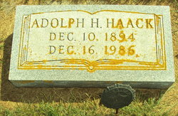 Adolph H Haack