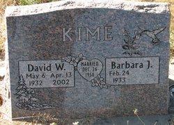 Barbara J Kime