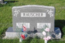 William C Rauscher