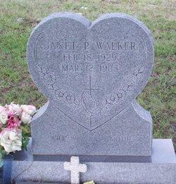 Janet P. Walker
