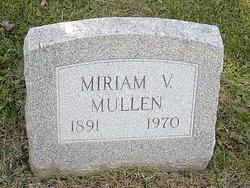 Miriam V <I>Campbell</I> Mullen