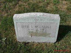 Effie L McCardle