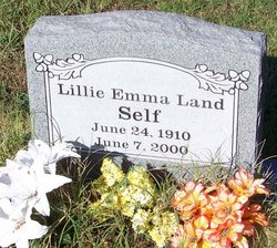 Lillie Emma <I>Land</I> Self