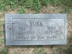 Mary Ellen <I>Graham</I> York