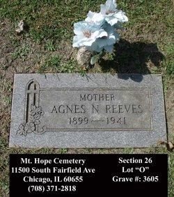 Mrs Agnes N Reeves
