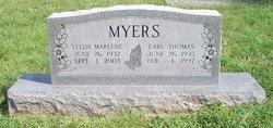 Velda Marlene Myers