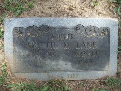 Mattie Mabel <I>York</I> Lane