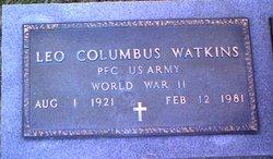 "Leo Columbus ""Pete"" Watkins"