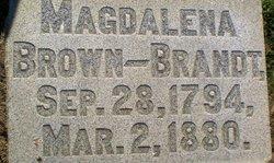 Magdalena <I>Brown</I> Brandt