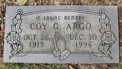Coy G Argo