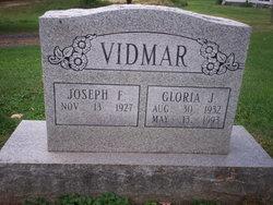 """Joseph F. """"Joe"""" Vidmar"""