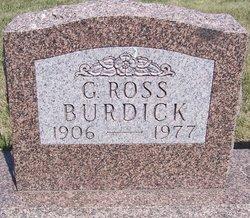 G Ross Burdick