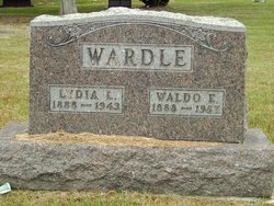 Lydia L <I>Richards</I> Wardle