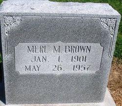 Merl Melvin Brown