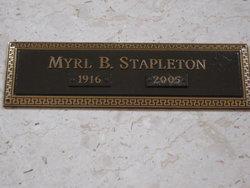 Annie Myrl <I>Boss</I> Stapleton