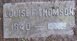 Louise F Thomson