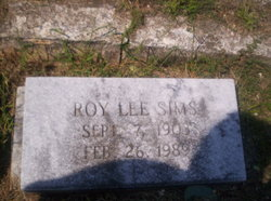 Roy Lee Sims
