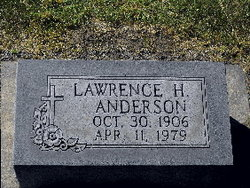 Lawrence Hillery Anderson