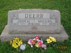 Matilda Theresa <I>Christl</I> Deerr