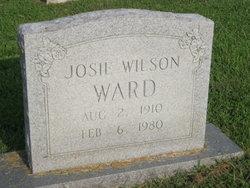 Josie <I>Wilson</I> Ward