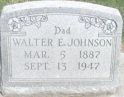 Walter E. Johnson
