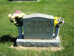 Ora Belle <I>Roberts</I> Hallock