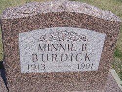 Minnie <I>Hoffman</I> Burdick