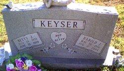 Betty Jane <I>Hinebaugh</I> Keyser