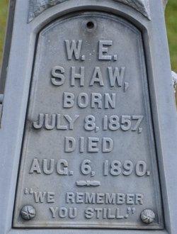 W. E. Shaw