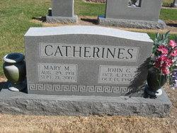 Mary <I>Moskos</I> Catherines