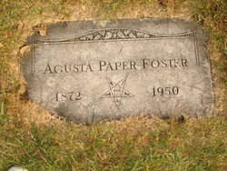 Agusta <I>Ristow</I> Paper Foster