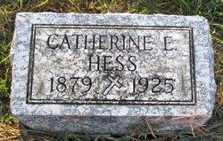 Catherine E Hess