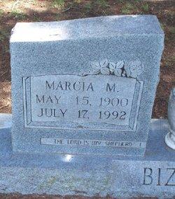 Marcia M Bizzle