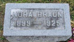 Nora <I>Cline</I> Braun
