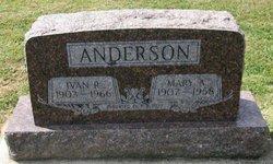 Mary A. <I>Austin</I> Anderson