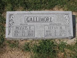 Phyllis E <I>Reeve</I> Gallimore