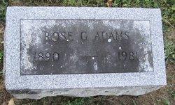 Rose G Adams