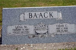 Charles C Baack