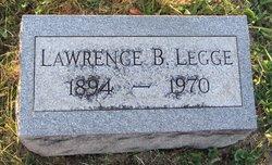 Lawrence B Legge