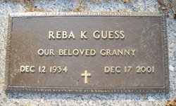 Reba K <I>Reece</I> Guess