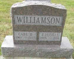 Erma Lucille <I>Gahm</I> Williamson