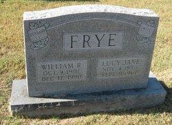 Lucy Jane <I>Zirkle</I> Frye