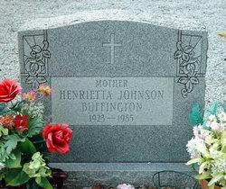 Henrietta <I>Johnson</I> Buffington