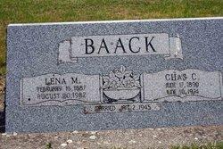 Lena M <I>Brown</I> Baack