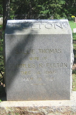 Sallie <I>Thomas</I> Fulton