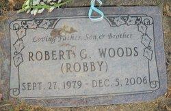 """Robert G """"Robby"""" Woods"""