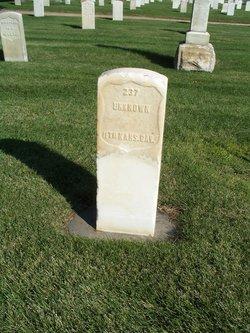 U. S. Soldier 237 Unknown