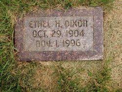 Ethel H Dixon