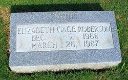 """Elizabeth Gage """"Beth"""" Roberson"""