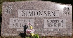 Moyone Oleta <I>Cutright</I> Simonsen